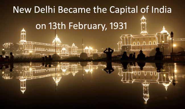 Delhi Became Capital