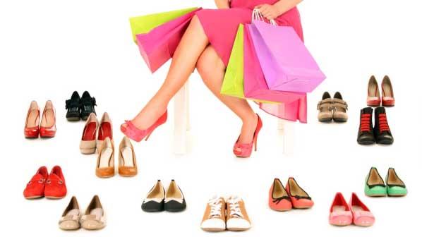 Women shoes wardrobe
