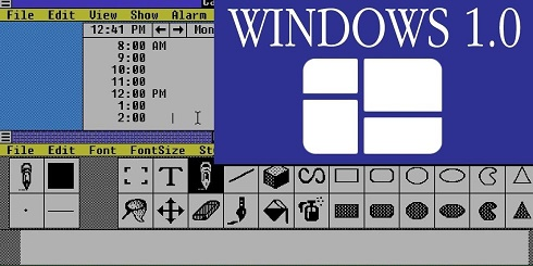 Windows 1.0 & 2.0