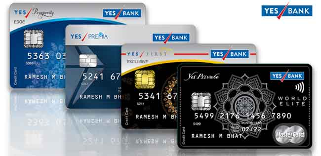 YES Bank credit card